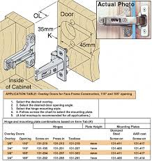 full overlay face frame cabinets woodworker com salice c2pfd99 165 full overlay cabinet hinges