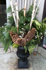 Outdoor Christmas Garland by 461 Best Outdoor Winter Arrangements Images On Pinterest