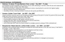 Cabin Crew Resume Example by Sample Curriculum Vitae For Cabin Crew Experience Letter Sample Pdf