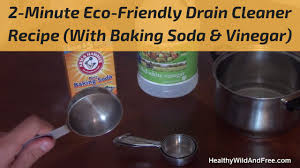 clogged bathroom sink baking soda vinegar how to unclog a drain using baking soda vinegar youtube