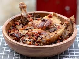lapin cuisiner lapin au cidre au thym et au romarin