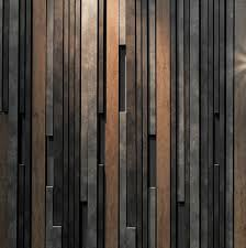Different Wall Textures Fortina Louvers In Various Profiles Are Mixed With Different