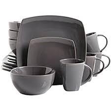 gibson home 16 zen buffetware dinnerware set