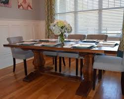 dining room furniture charlotte nc custom walnut trestle table in east charlotte nc