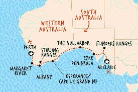 Southern Ocean Map Southern Ocean U0026 The Nullarbor Adventure Tours