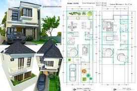 desain rumah lebar 6 meter rumah 2 lantai lebar 6 meter minimalis jasa desain rumah