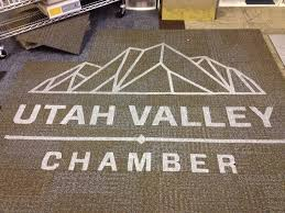 interface carpet tile entry mat with logo using entry level