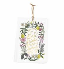 2017 herb garden wall calendar by rifle paper co made in usa