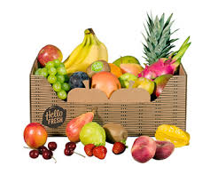 weekly fruit delivery fruit box weekly food delivery hellofresh