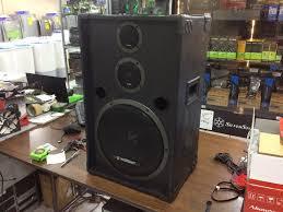 home theater center speaker koncert 3 way speakers 1 pair 12