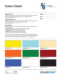 brochures lti inc ral color chart