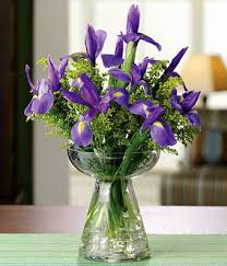Small Vase Flower Arrangements Eternal Iris At From You Flowers