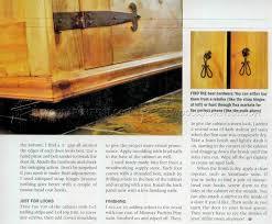 Armoire Furniture Plans Rustic Armoire Plans U2022 Woodarchivist