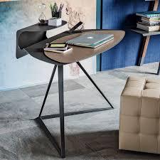 bureau en acier bureau en acier en cuir contemporain by andrea lucatello