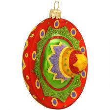 sombrero glass ornament ethnic pride ornaments