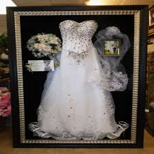 wedding dress shadow box wedding dress preservation shadow box mini bridal