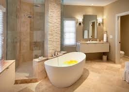 Stone Freestanding Bathtubs Freestanding Tub With Wall Mount Filler Bathroom Traditional With
