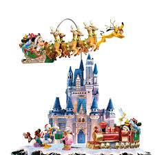 christmas carousel the disney christmas carousel tree hammacher schlemmer
