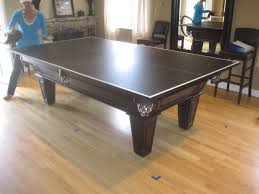 pool table ping pong top cool ping pong table top for pool table about remodel inspirational