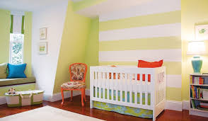 striped nursery design ideas