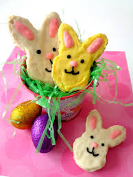 bunny easter easter bunny rice krispies treat the best ideas for kids