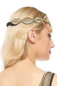 flapper headband ritz embellished flapper headband by gatsbylady london