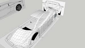 sketch of lamborghini gallardo lamborghini gallardo blueprint 3d warehouse