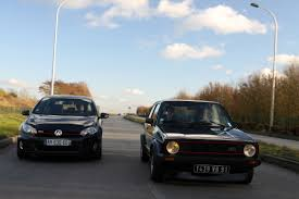 volkswagen golf 1980 vido vw golf gti 1600 de 1980 contre vw golf gti de 2009 1980