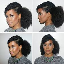 hair pony tail for african hair best 25 natural hair ponytail ideas on pinterest natural