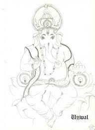ganesh ji sketch free download clip art free clip art on