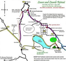 La Airport Map Location And Transportation Leaves And Lizards