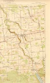Malone Ny Map Chateaugay Ny Quadrangle