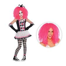 jester halloween costumes girls circus sweetie clown harlequin jester halloween fancy dress