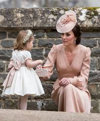 St Mark S Church Berkshire Kate And Charlotte Were The Cutest Mommy Daughter Duo At Pippa U0027s