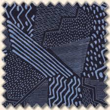 Blau Schwarz Muster Sketchbook Patchwork Muster Blau Schwarz Kaufen