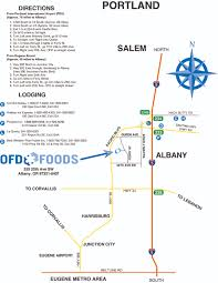 Albany Map Ofd Foods Oregon Freeze Dry In Albany Or Map U0026 Location