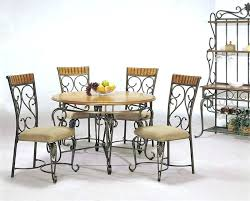 Wrought Iron Dining Table And Chairs Iron Dining Room Set Metal Dining Room Chairs Wrought Iron Dining