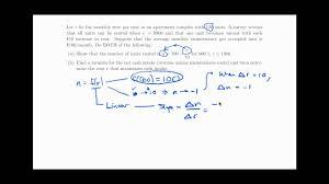 optimization problems maximum cash intake rent youtube