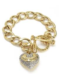 bracelet charm gold jewelry images Designer bracelets for women juicy couture jpg