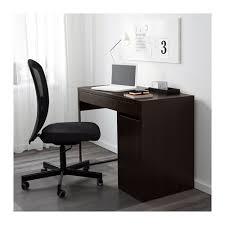 Ikea Black Computer Desk Micke Desk Black Brown Ikea