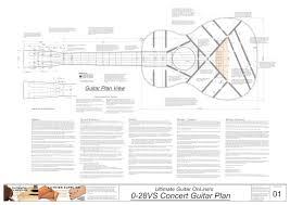 guitar building plans