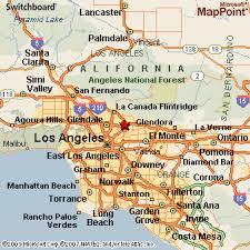 pasadena ca map pasadena california