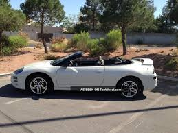 white mitsubishi eclipse 2003 mitsubishi eclipse spyder information and photos momentcar