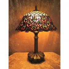 tiffany style peacock lamp foter