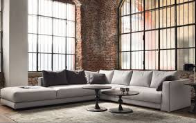 sofa long sectional sofa with chaise compelling loukas extra