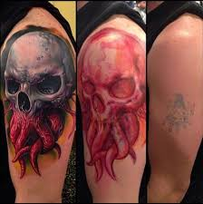tentackle skull cover up best ideas gallery
