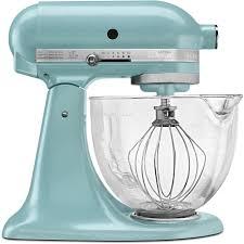 kitchenaid artisan designer 5 qt azure blue stand mixer