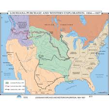usa map louisiana purchase universal map u s history wall maps louisiana purchase