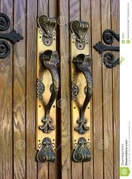 Brass Door Handles Ornate Brass Door Handles Stock Photos Image 728953