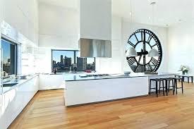 pendule cuisine moderne horloge pour cuisine pendule de cuisine moderne cuisine cuisine